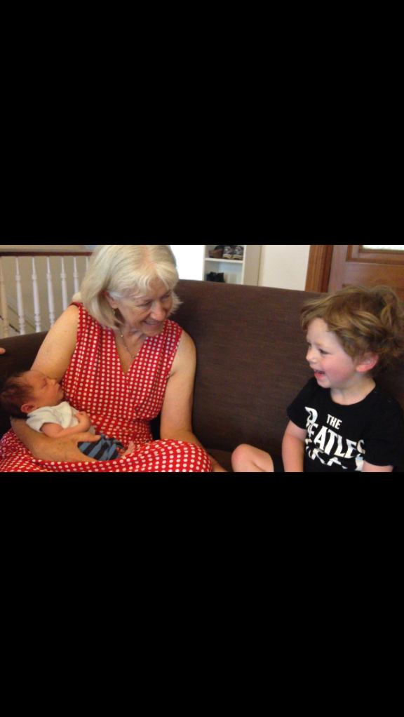 Nana helping Ruben meet Anya